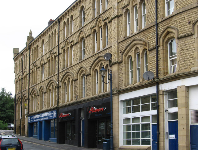 Dewsbury - north side of Nelson Street