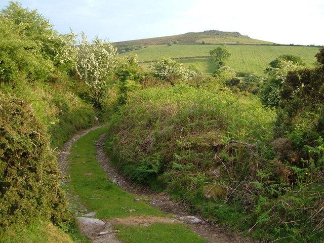 Track near Sherril