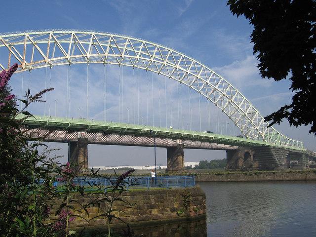 Runcorn - Silver Jubilee Bridge