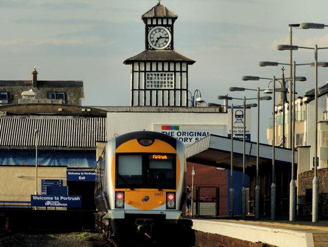 Train, Portrush (2012-2)