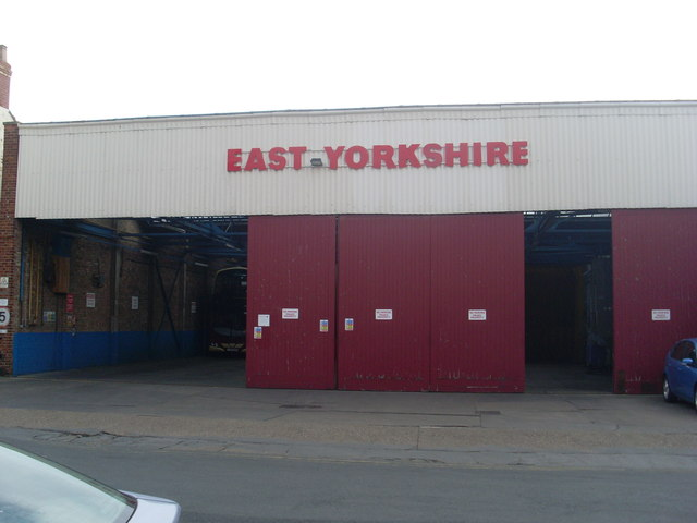 East Yorkshire Bus Depot, Withernsea