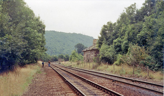 Coalbrookdale station (remains)