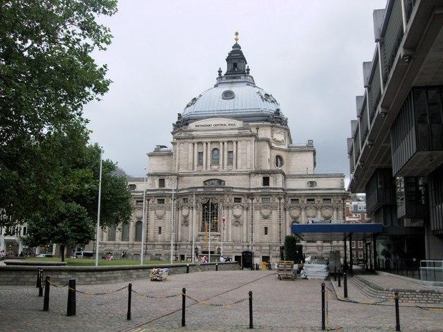 Methodist Central Hall...