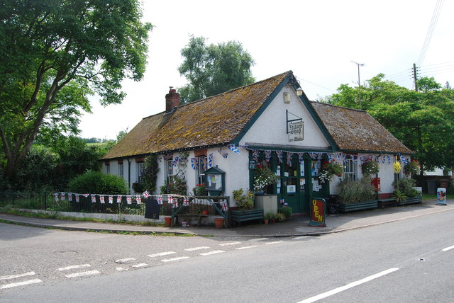 Village shop, Leckford