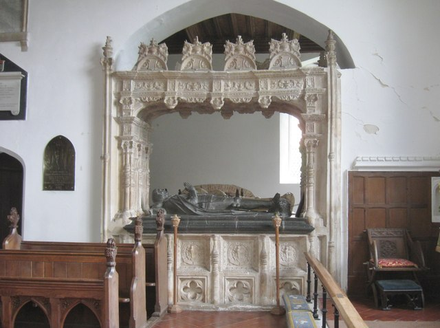 Memorial to Lord Henry Marney,  Layer Marney Church