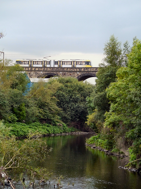 River Irwell, Radcliffe Viaduct