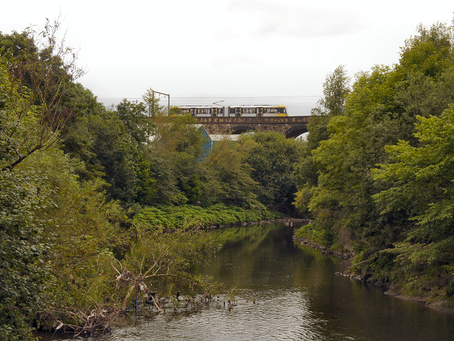 Radcliffe Viaduct, River Irwell