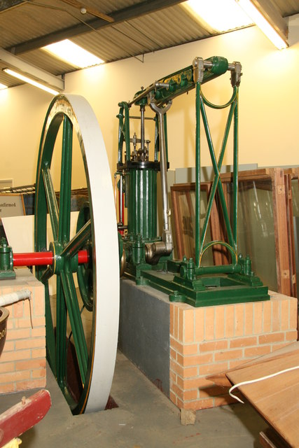 Museum store - grasshopper beam engine