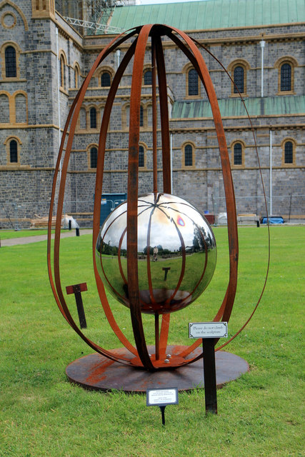 Sculpture, Buckfast Abbey, Buckfastleigh, Devon