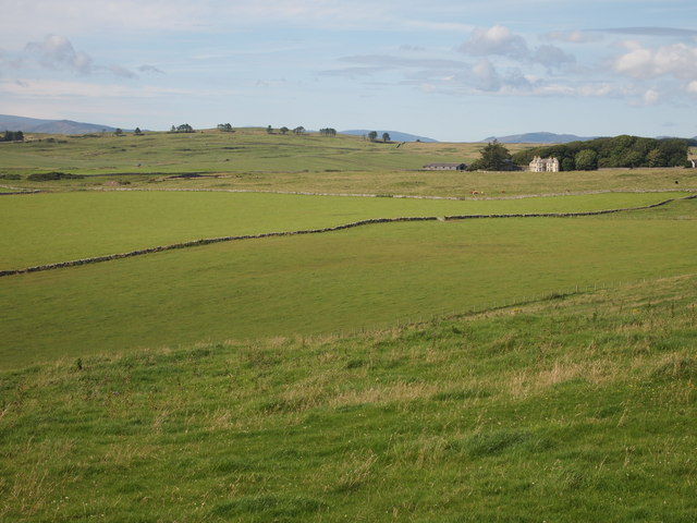 Fields at Borness