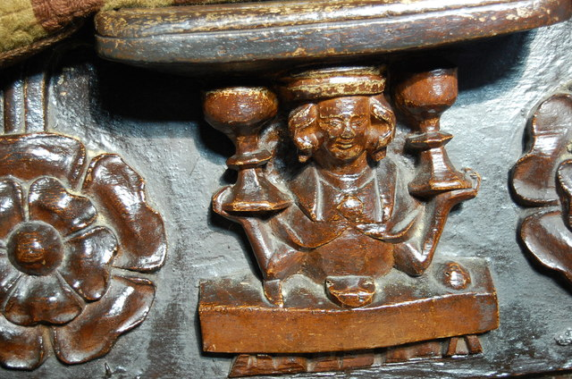 Misericord, Great Malvern Priory