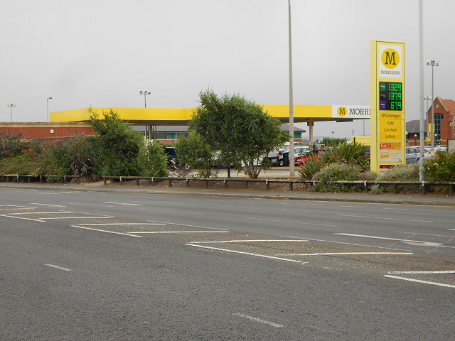 Morrisons Filling Station, Squires Gate