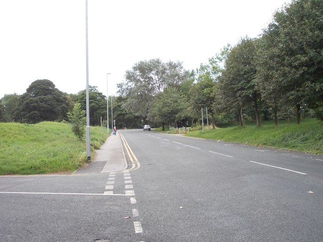 Rampart  Road - viewed from Cathcart Street