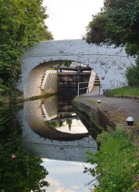 Bridge No. 204, Grand Union Canal, Glade Lane