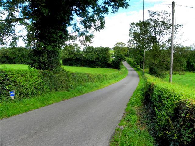 Road at Drumhillock