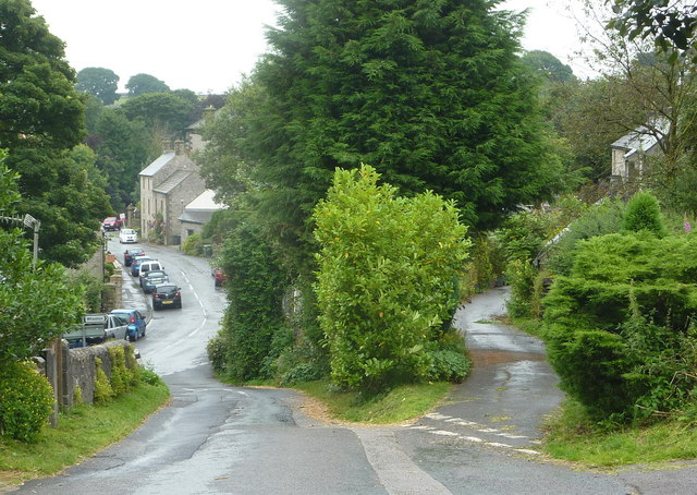 The foot of Wheston Bank, Tideswell