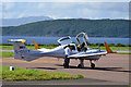 NM9034 : Diamond at Oban Airport by TheTurfBurner