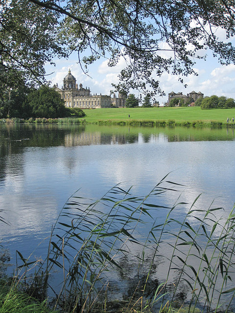 South Lake, Summer view