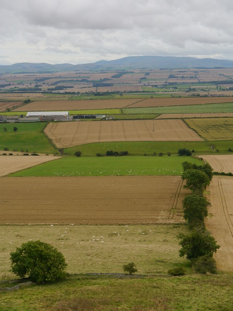 A View From Hume Castle
