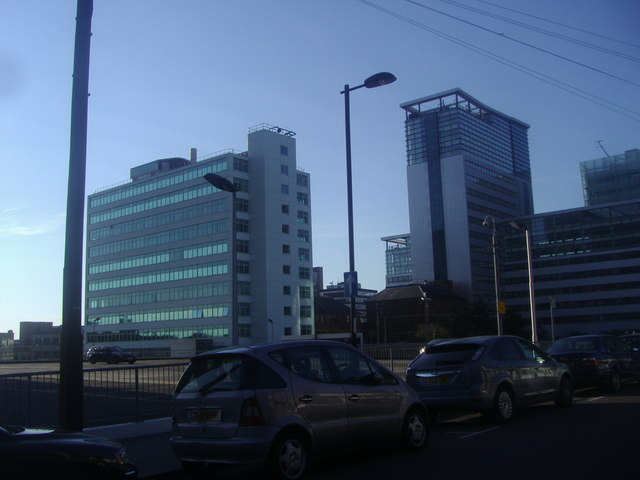 Office blocks by Edridge Road, Croydon