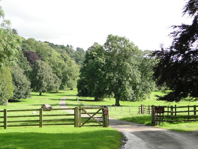 Parkland, Berrington Hall