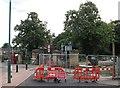 SK5638 : Victoria Embankment Gateway by John Sutton