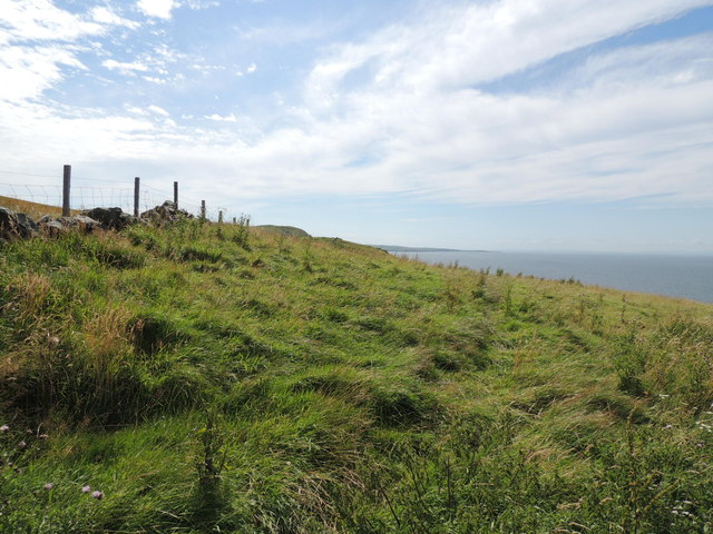 Ayrshire Coastal Path near Knockgowan