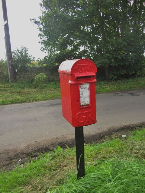 """Letters Only"" Postbox at Shoreston Hall"