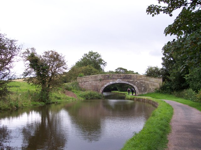 Barkers Bridge on the Lancaster Canal