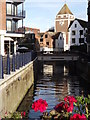 TQ1769 : Hogsmill River, Central Kingston by Colin Smith