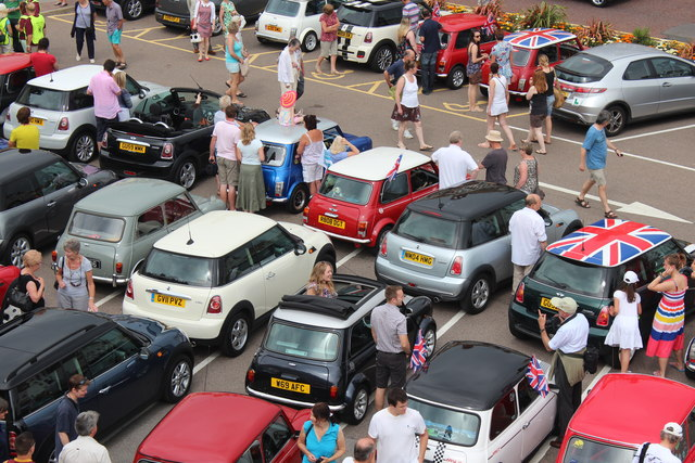 Minis at De La Warr Pavilion