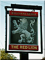 TQ4130 : Red Lion inn sign by Robin Webster