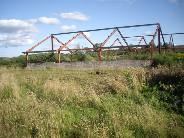 Steel-frame building