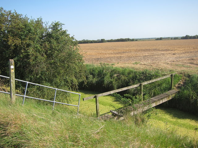 Footbridge, Whitfield Sewer