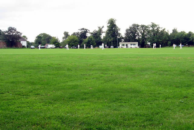 Puckrup Cricket pitch and pavilion