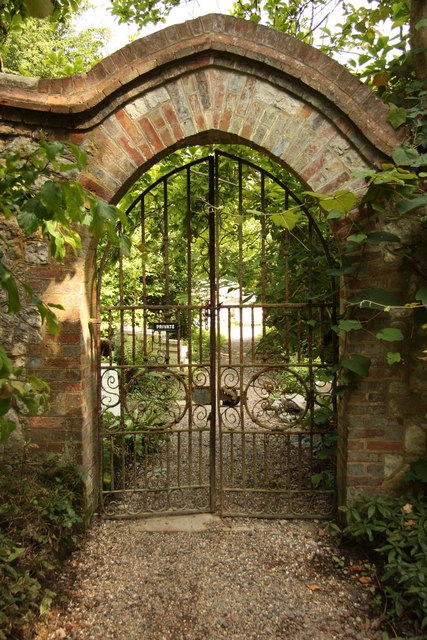 Kitchen garden gate