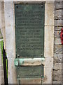 TF0008 : The War Memorial at Great Casterton by Ian S