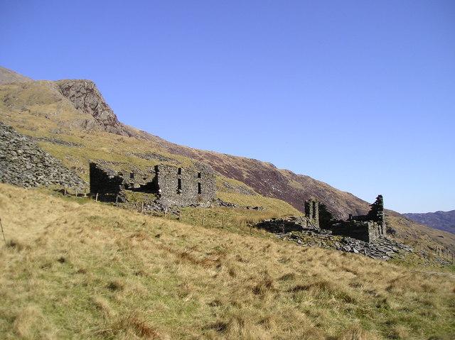 Ruins, Cwm Llan Quarry