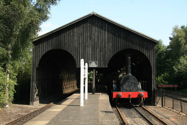 Didcot Railway Centre - transfer shed