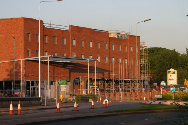 Travelodge, Tamworth Central Hotel and Lidl store  (5)