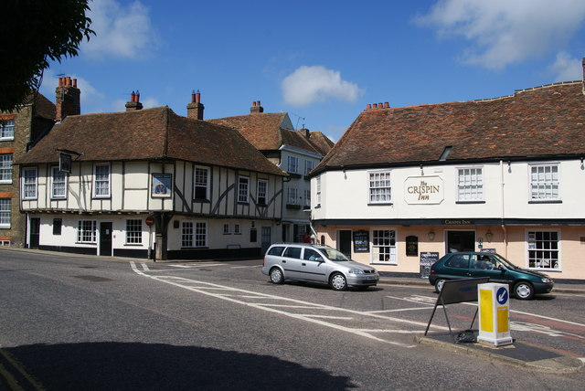 Old pubs in Sandwich