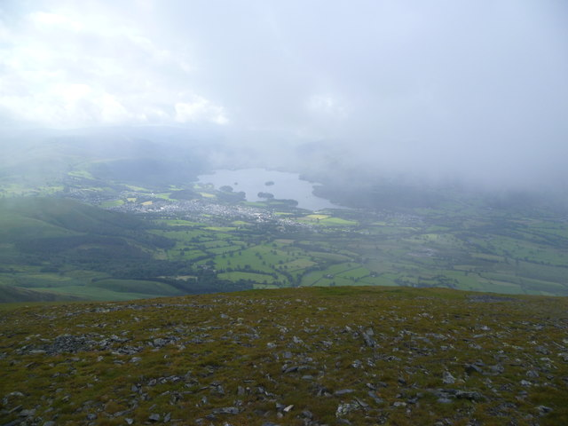 On Skiddaw Little Man