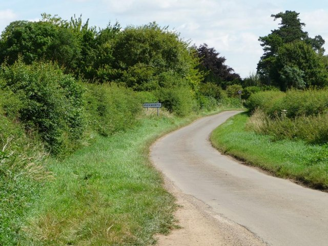 The road to Pickworth