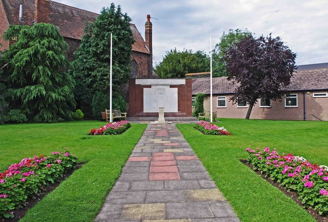 War Memorials, Stourport War Memorial Garden, Stourport-on-Severn