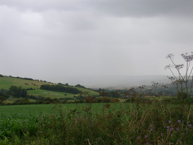 Rain over Winchcombe