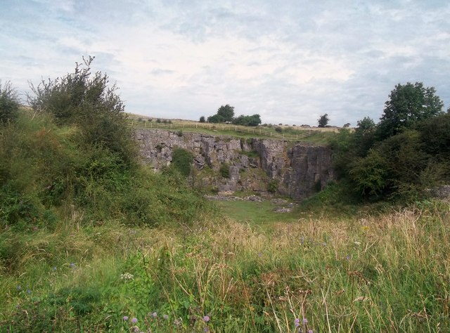 Redhill Quarry at Middleton Top
