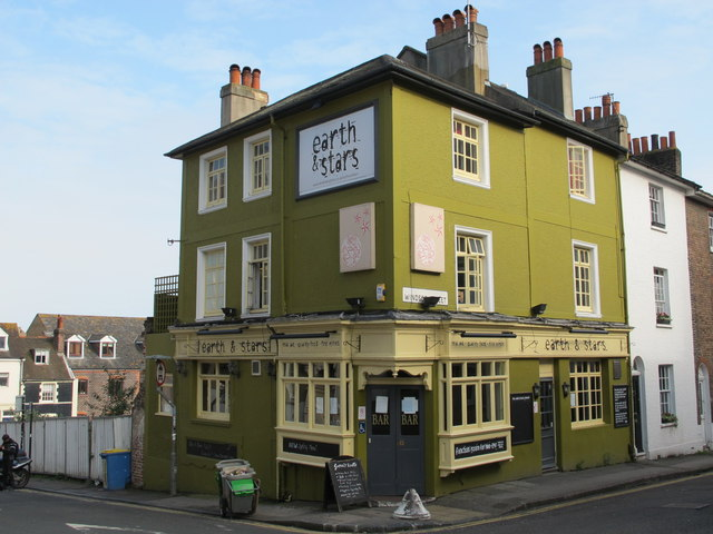 The earth & stars, Church Street / Windsor Street, BN1