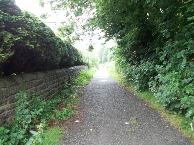 Bridleway - viewed from Healey Avenue