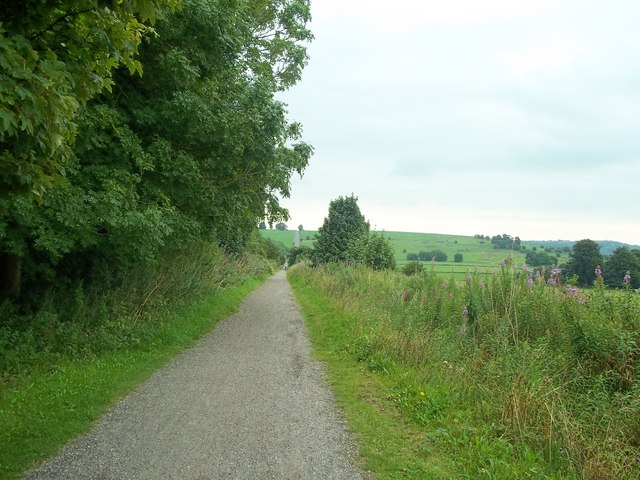 The Hopton Incline on the High Peak Trail