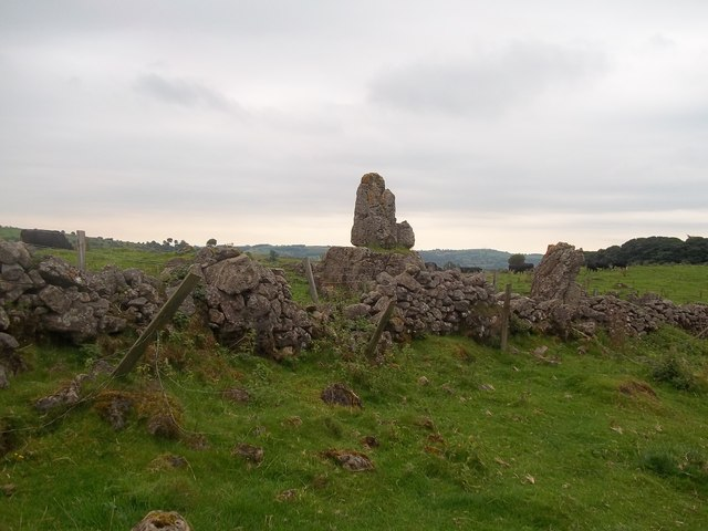 The King's Chair near Carsington